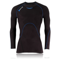 Skins Coldblack Long Sleeve Compression Running Top