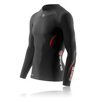 Skins A200 Thermal Long Sleeve Compression Running Top