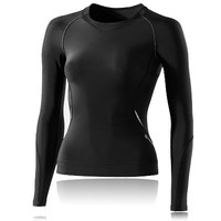 Skins Bio A400 Women's Long Sleeve Compression Running Top