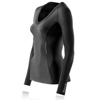 Skins Bio A200 Women's Compression Long Sleeve Running Top