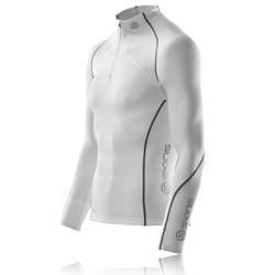 Skins Bio A200 Thermal Long Sleeve Mock Neck Zip