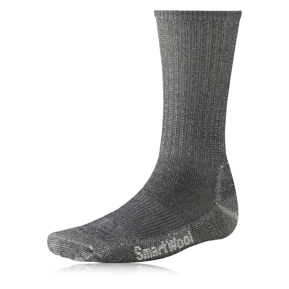 Smartwool-Mens-Light-Crew-Grey-Mid-Height-Merino-Wool-Hiking-Walking-Socks thumbnail 5