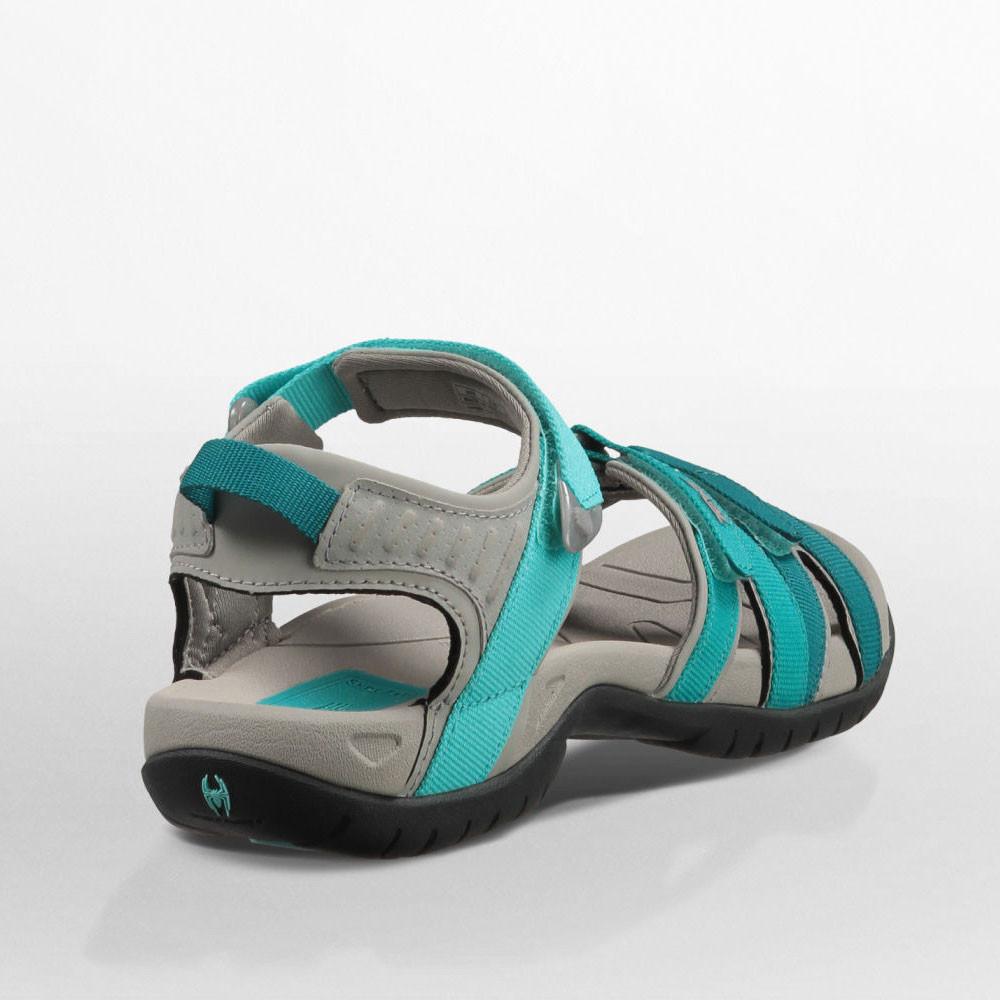 teva tirra damen trekkingsandalen outdoor sandalen sommer wanderschuhe blau ebay. Black Bedroom Furniture Sets. Home Design Ideas