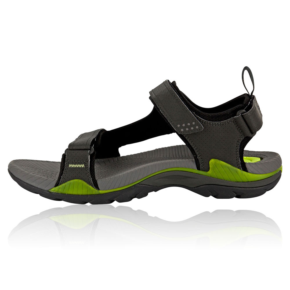 Teva Mens Toachi 2 Grey Green Drain Frame Outdoors Sports