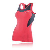 2XU Women's Base Compression Tank Top Running Vest