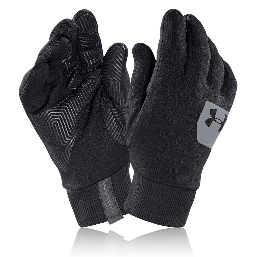 Sport In Gloves: Under Armour Mens Core ColdGear Infrared Liner Black Warm