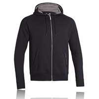 Under Armour EU Storm Charged Cotton Full Zip Hooded Running Top