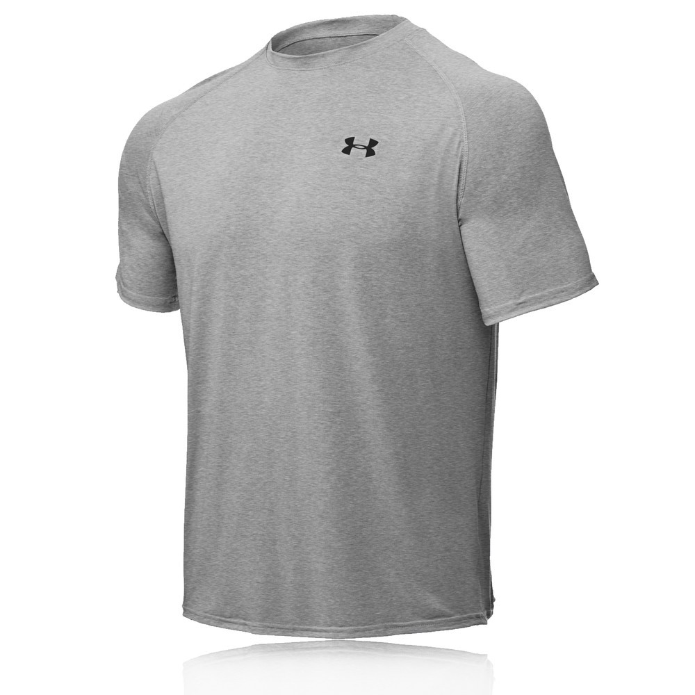 Under armour tech heatgear short sleeve t shirt for Under armour men s tech short sleeve t shirt