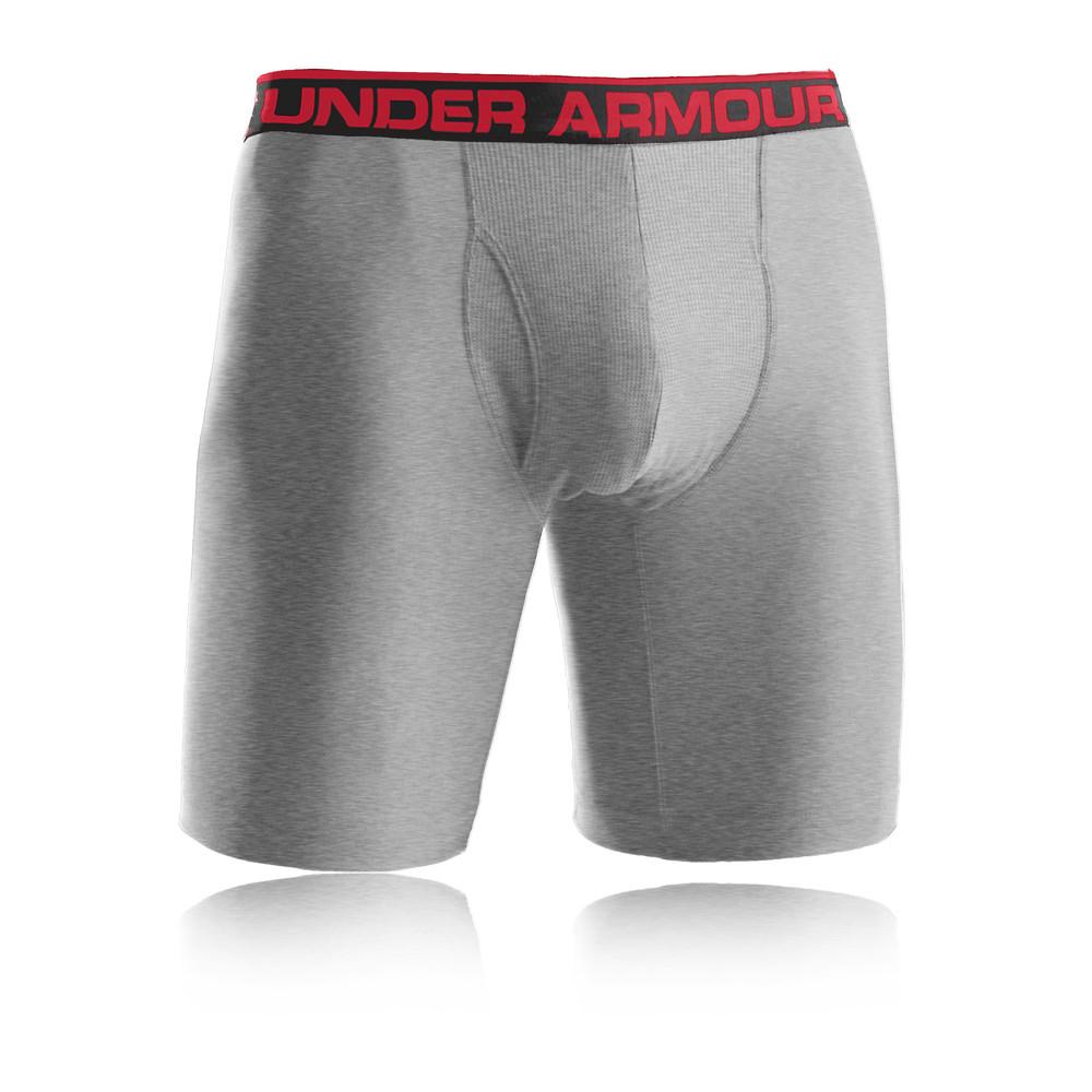 "Under Armour 'The Original' 9"" Mens Grey Boxer Shorts ... Men S Under Armour Compression Shorts"