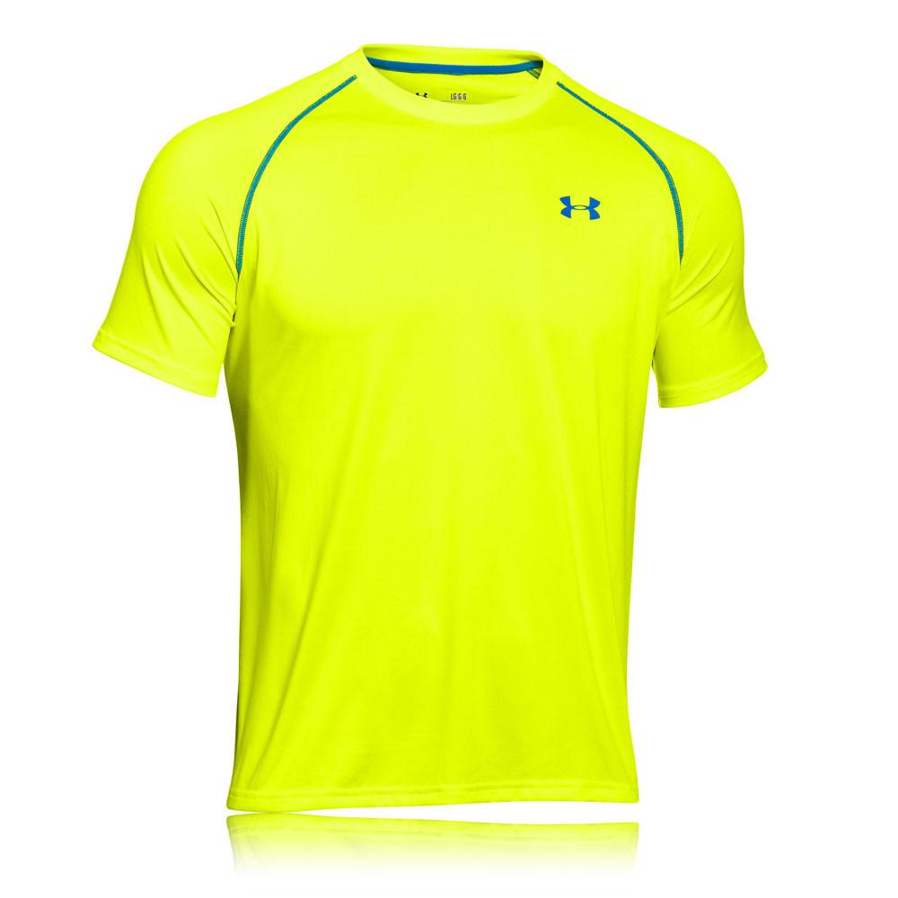 under armour tech short sleeve running t shirt aw15
