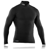 Under Armour EVO Coldgear Mock Neck Compression Top