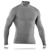 Under Armour EVO Coldgear Mock Neck Long Sleeve Compression Top