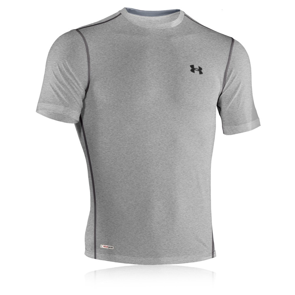 Under Armour Heatgear Sonic Fitted Short Sleeve T Shirt