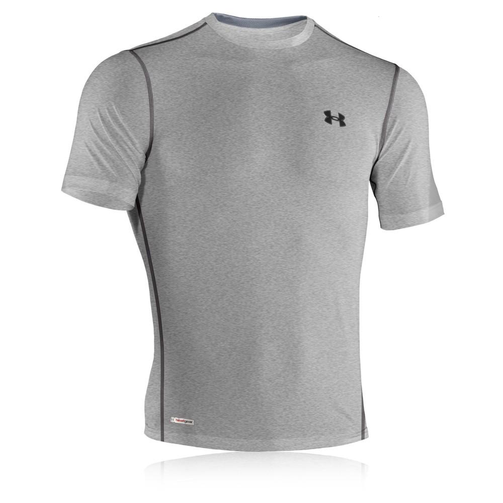 Under armour heatgear sonic fitted short sleeve t shirt for Under armour men s heatgear sonic fitted t shirt