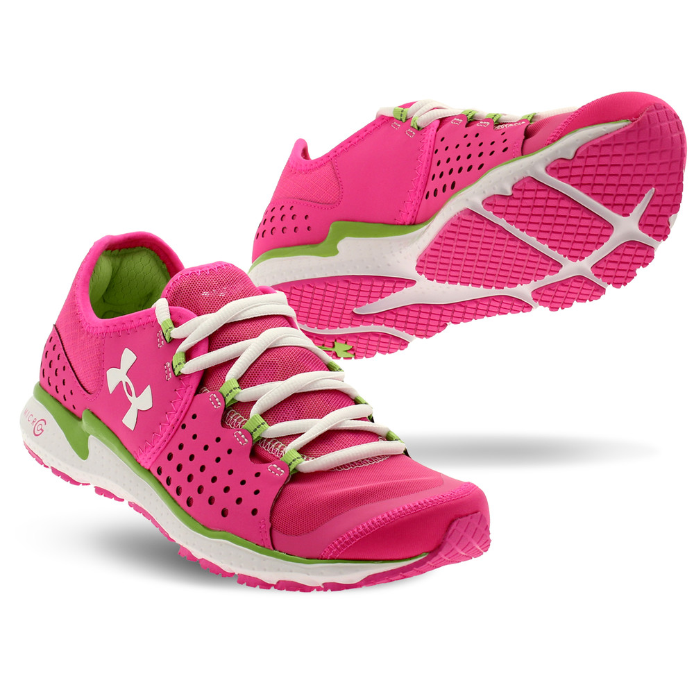 Model AUD11696 Womens Under Armour Sport Shoes Pink  Under Armour Armour