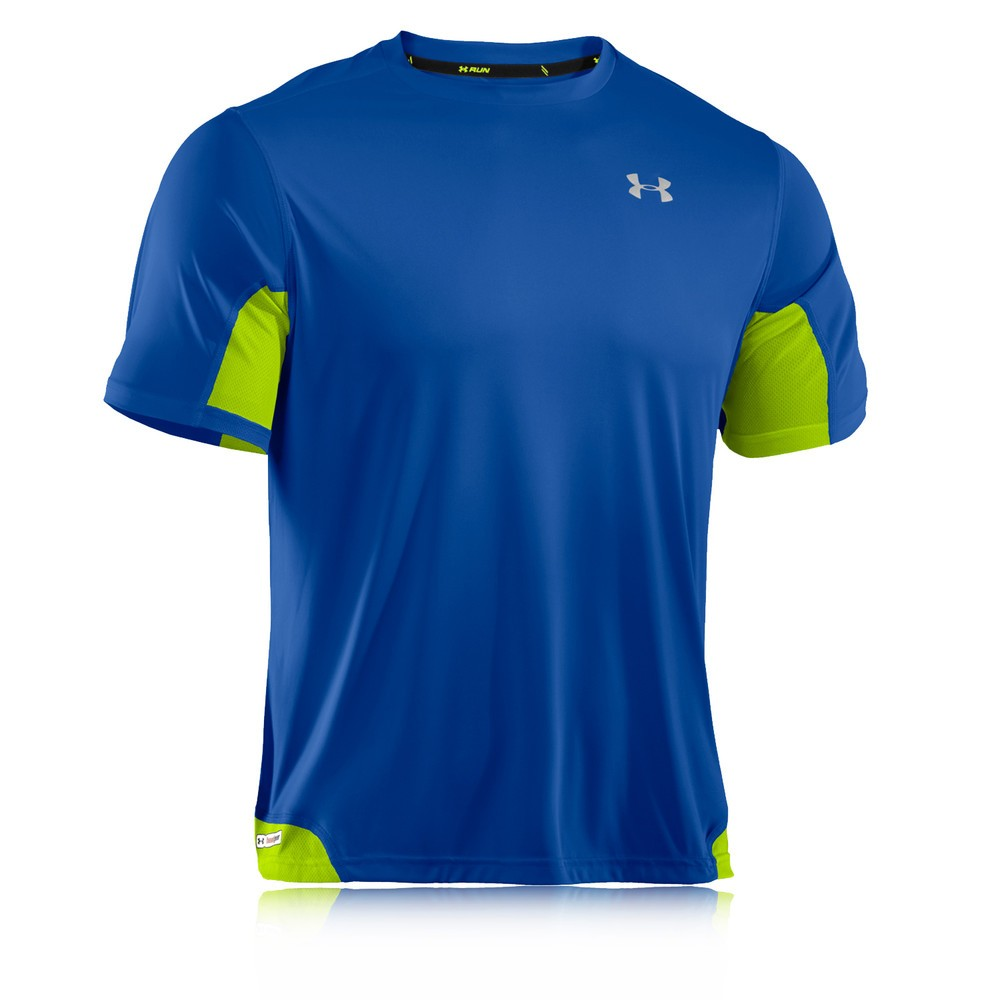 Under Armour Heatgear Flyweight Run Short Sleeve T Shirt