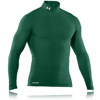 Under Armour EVO Coldgear Mock Neck Long Sleeve Compression Running Top