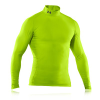 Under Armour EVO Coldgear Mock Neck Compression Running Top