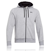 Under Armour Charged Cotton Storm Transit Full Zip Hooded Top