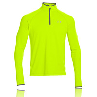 Under Armour HeatGear Flyweight Half-Zip Long Sleeve Running Top