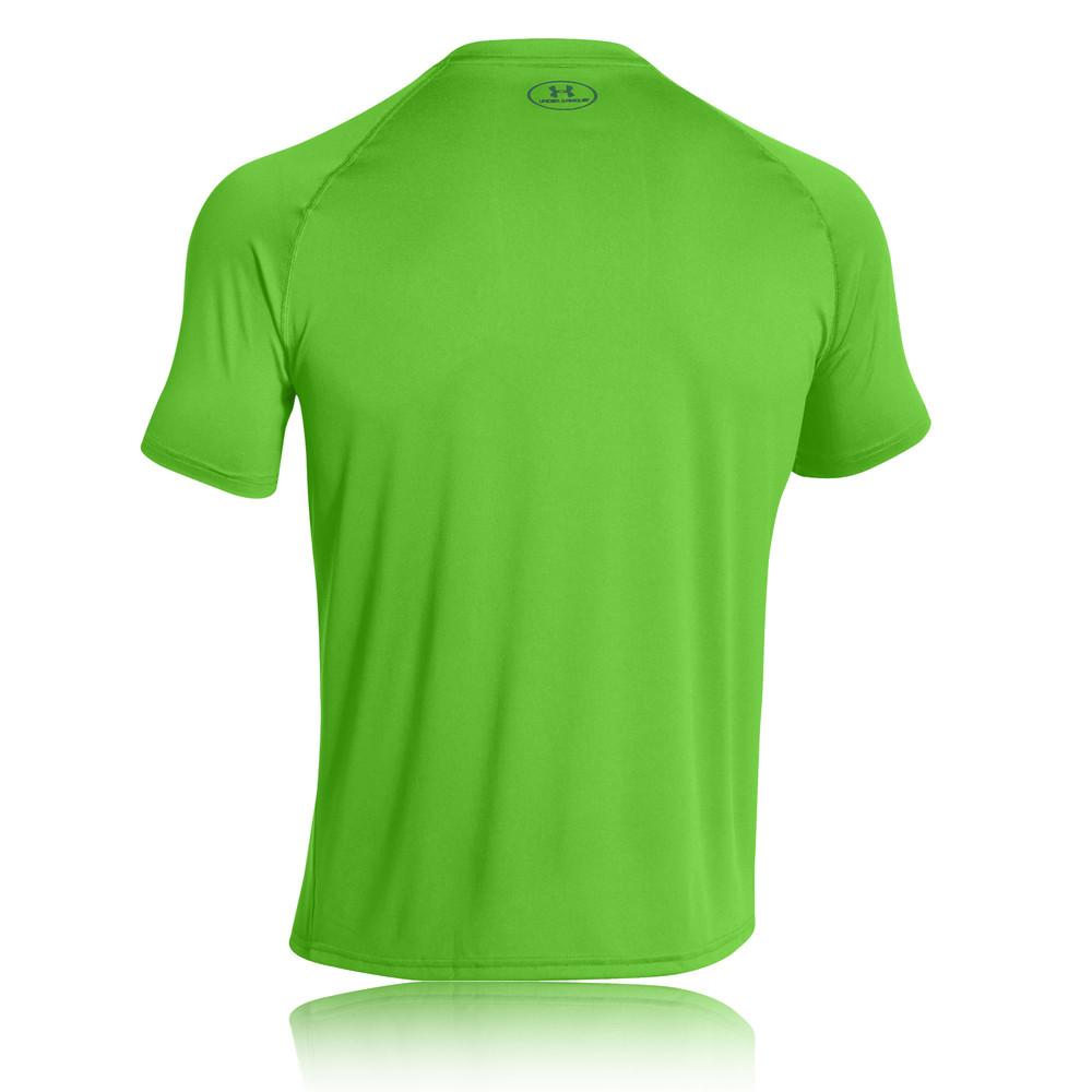 Under armour tech short sleeve running t shirt for Do under armour shirts run small