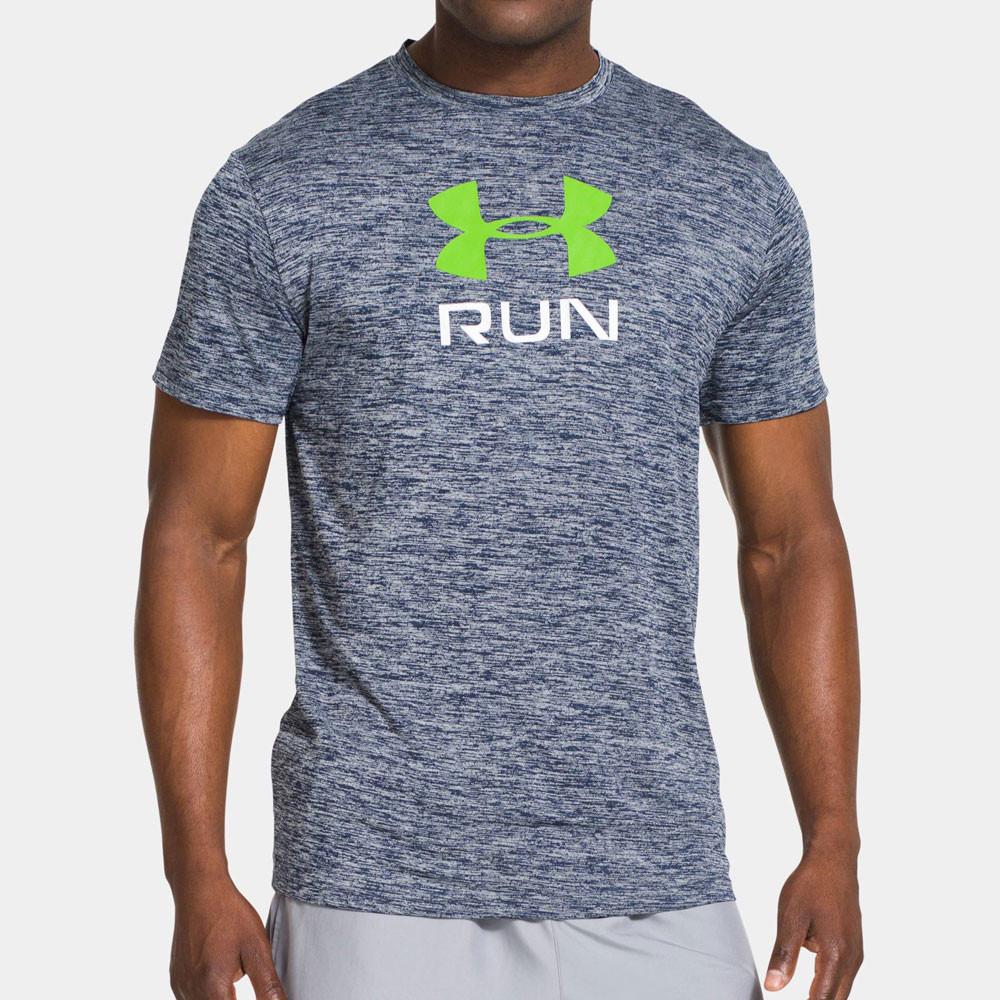 under armour run big twist running t shirt