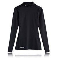 Under Armour Coldgear Women's Fitted Mock Long Sleeve Running Top