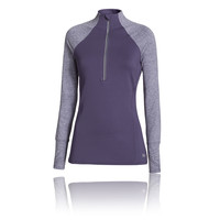Under Armour Storm Heather Women's 1/2 Zip Long Sleeve Running Top