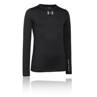 Under Armour Boys' UA ColdGear Evo Fitted Crew Long Sleeve Running Top
