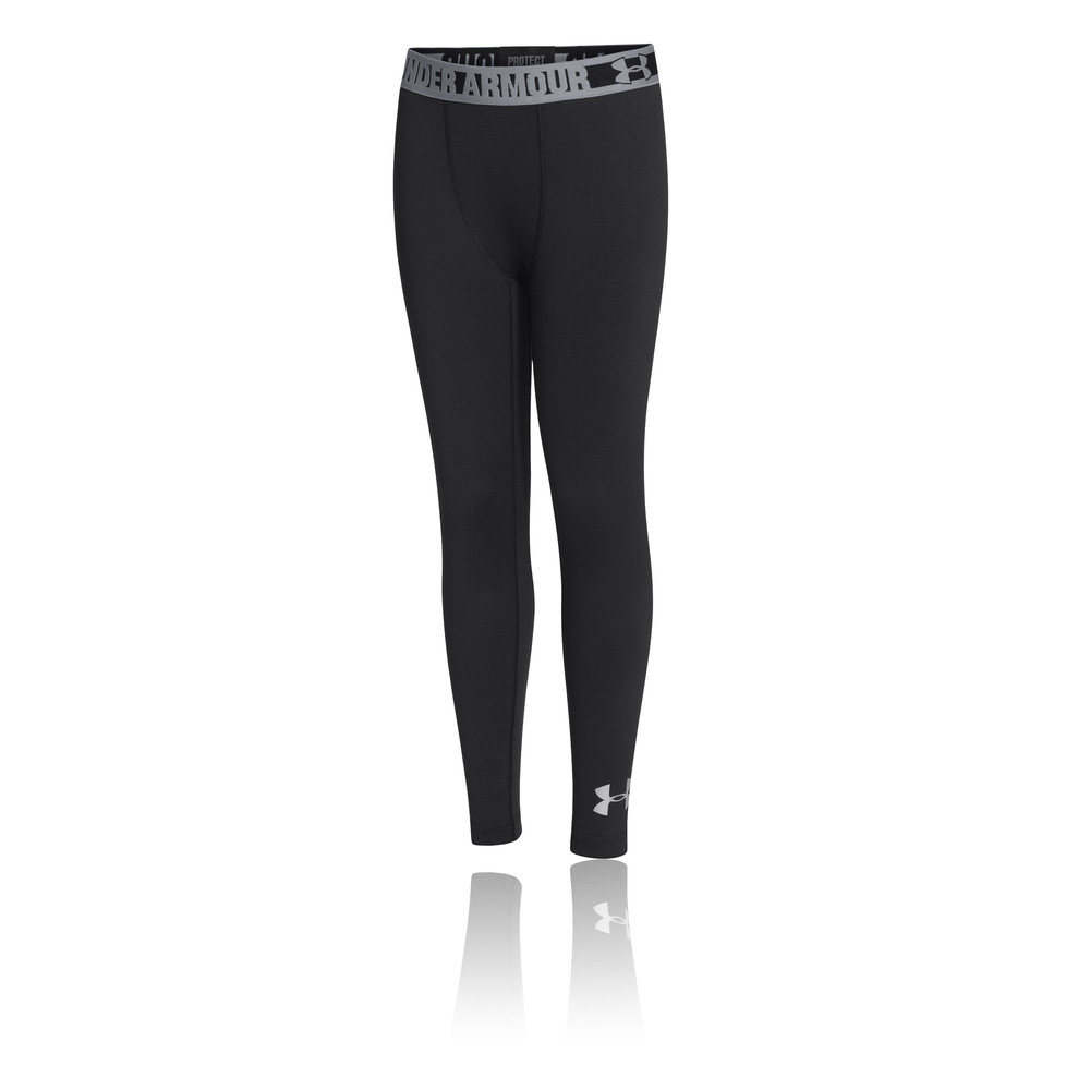 Under Armour ColdGear Evo Fitted Boy's Running Tights - AW15
