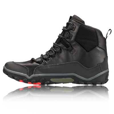 Vivobarefoot Off Road Hi Top Mens Black Leather Walking