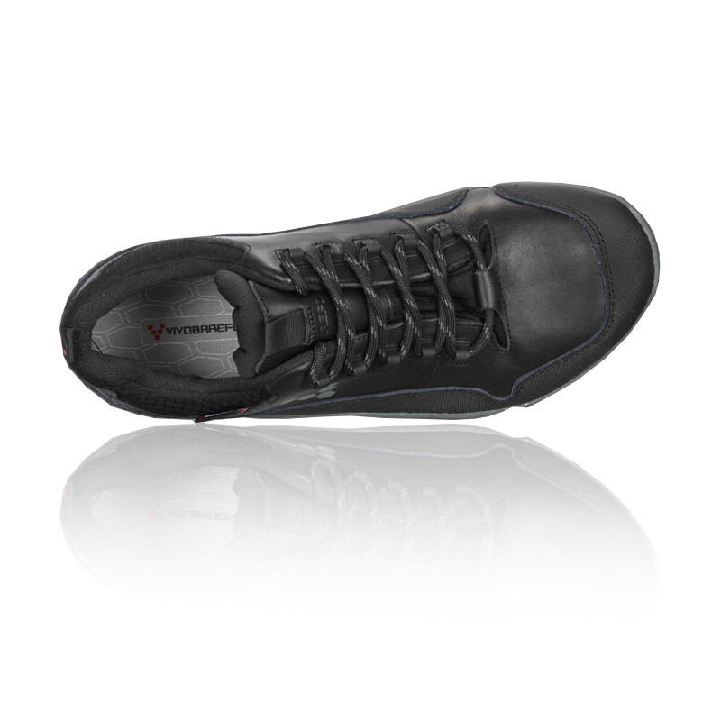SKECHERS-SHAPE-UPS-Black-Suede-Leather-Lace-Up