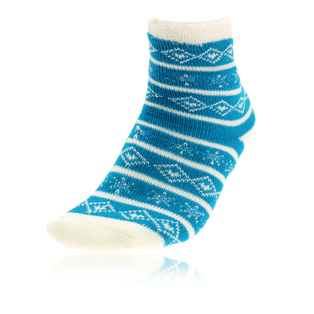 Yaktrax cabin mens blue insulated outdoor warm ankle mid for Warm cabin socks