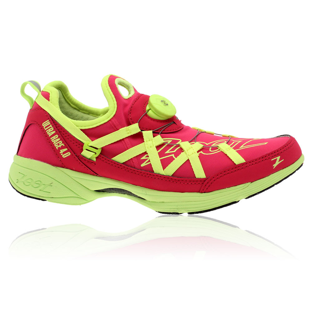Zoot-Womens-Ultra-Race-4-0-Cushioned-Pink-Grey-Green-Running-Trainers-Pump-Shoes